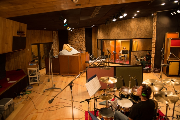We recorded 12 songs at Fantasy Studios over a weekend, and 8 of them made it onto Dreaming of Now.